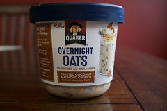 Quacker Overnight Oats