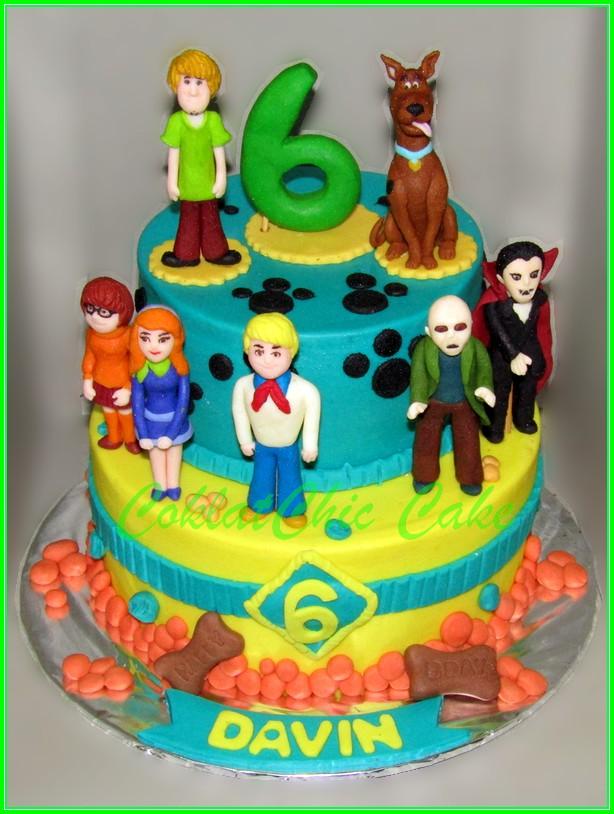 Cake Scooby Doo Davin 18 / 12 cm
