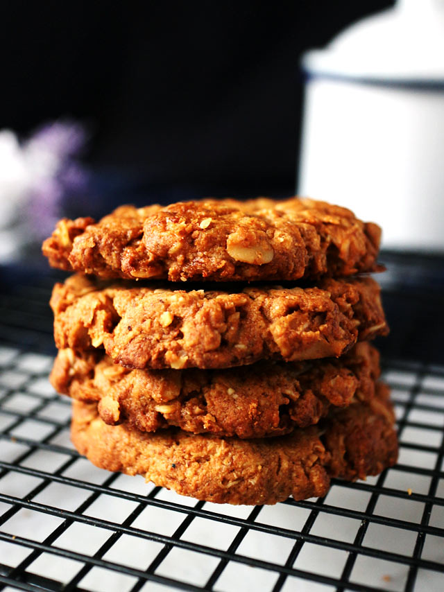全素椰片花生燕麥餅乾 vegan-coconut-peanut-butter-oatmeal-cookies (4)