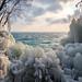 Crazy Ice Castle - Plage de Boudry - Switzerland by Rogg4n