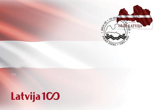Aploksne Latvijas karogs – karte