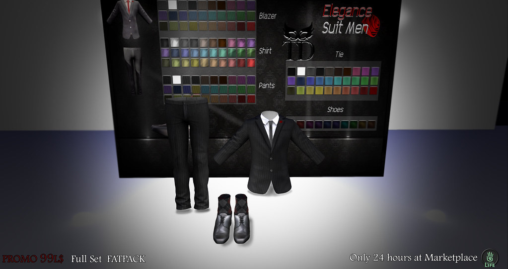 Promo Elegance Suit Men FULL SET PATPACK