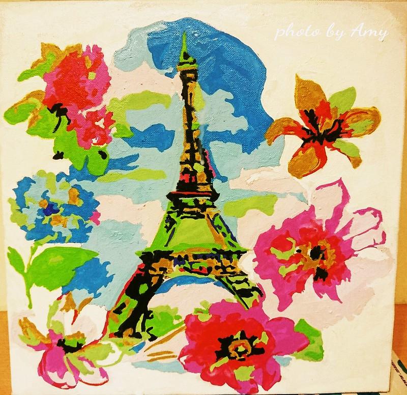 数字油画-花漾巴黎