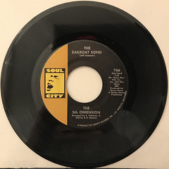 THE 5TH DIMENTION:STONED SOUL PICNIC(RECORD SIDE-B)