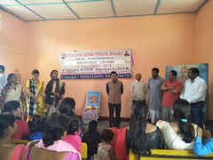 New VKV at Bokakhat started with Vidyarambha ceremony