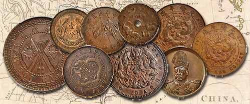 QDB Collection of Chinese Copper coins