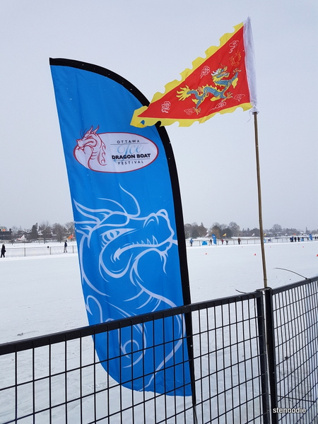ice dragon boat race