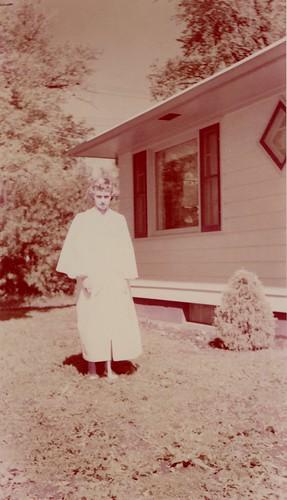 Marilyn's confirmation, 1950