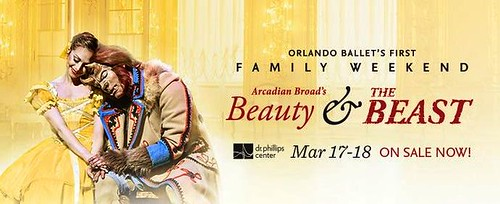 Orlando Ballet presents Arcadian Broad's 'Beauty & the Beast Family Weekend'