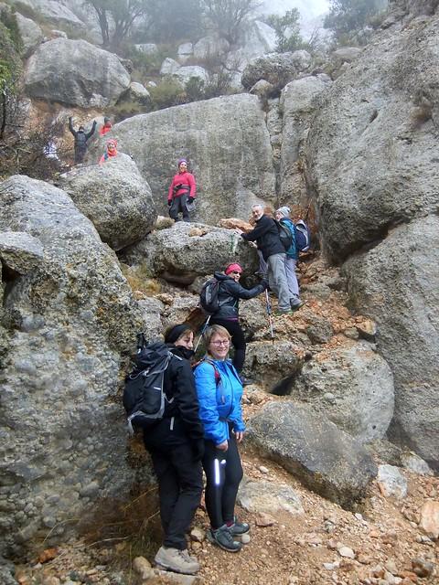 2018-01-14 Ruta de La Morera de Montsant, Grau del Carrasclet-Grau dels Barrots