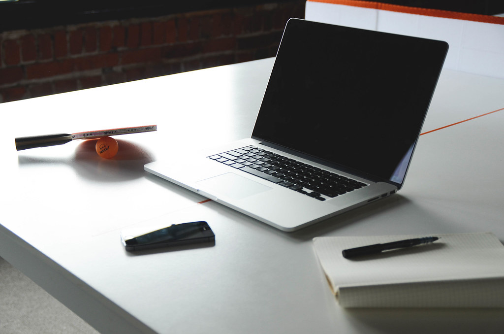 Desk Notebook Office Macbook