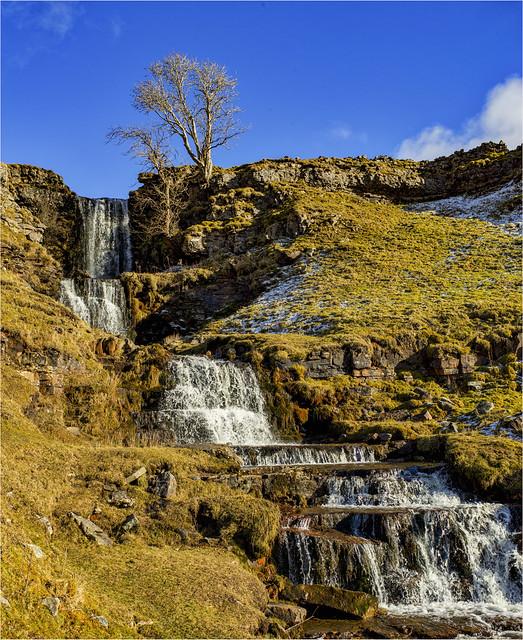 Cray Falls Yorkshire Dales.