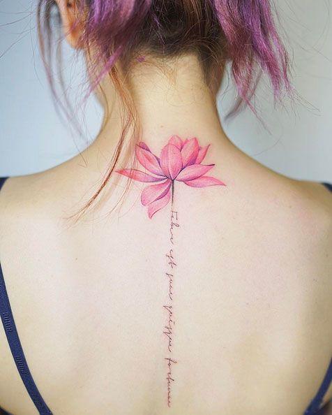 Ideas Increíbles Para Tatuajes En La Espalda Mini Tatuajes