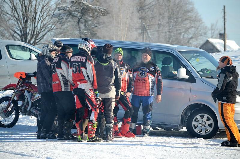 LČ skijoringā un ziemas motokrosā (25.02.2018./Smiltene)