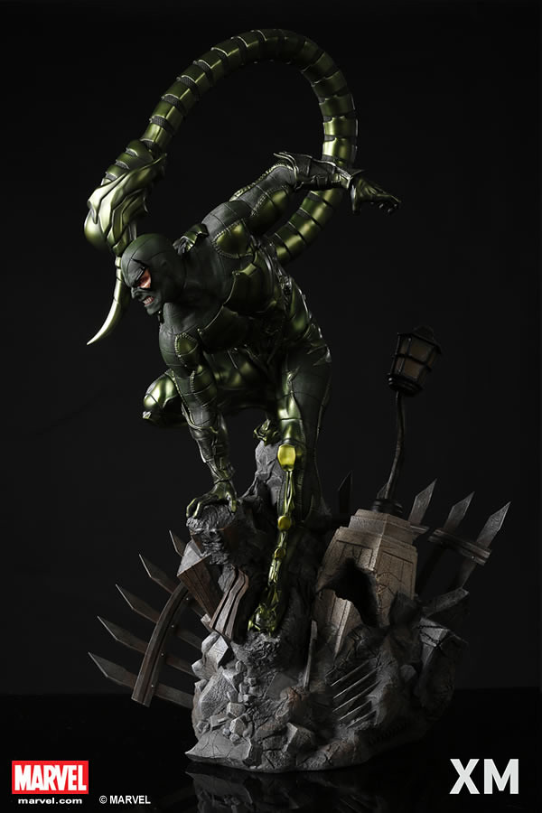 巨大的蠍尾看起來超致命啊~! XM Studios Premium Collectibles 系列 Marvel【蠍子人】Scorpion 1/4 比例全身雕像作品