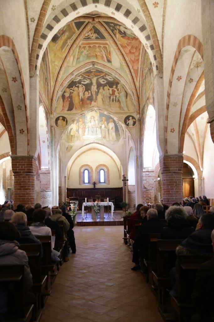 L'Arcivescovo di Milano, Mons. Mario Delpini, a Viboldone