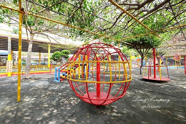 【高雄親子景點】路竹南巡代天宮兒童遊戲場18