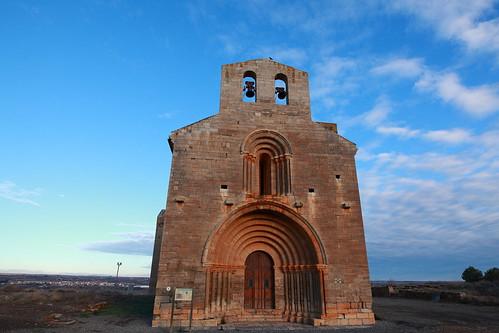Santa María de Chalamera, Huesca.