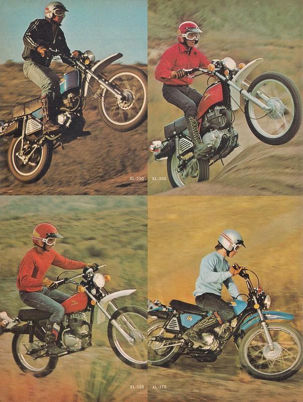 Honda 1976 XL 1