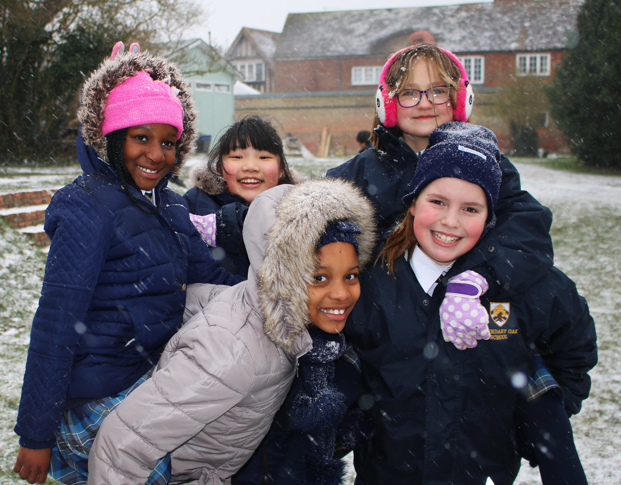 Spring Snow at Boundary Oak School