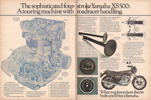 Yamaha XS500 1976