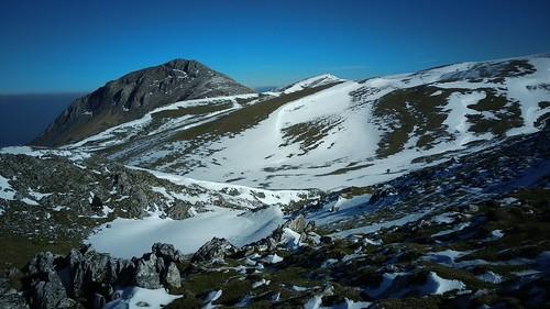 Izotza eta zeru urdina Aralarren