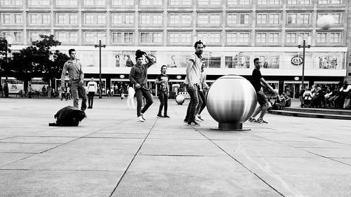 Alexanderplatz Fussball