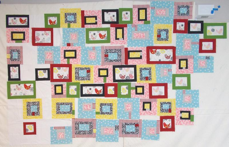 Little Birdies by Sandi Walton at Piecemeal Quilts