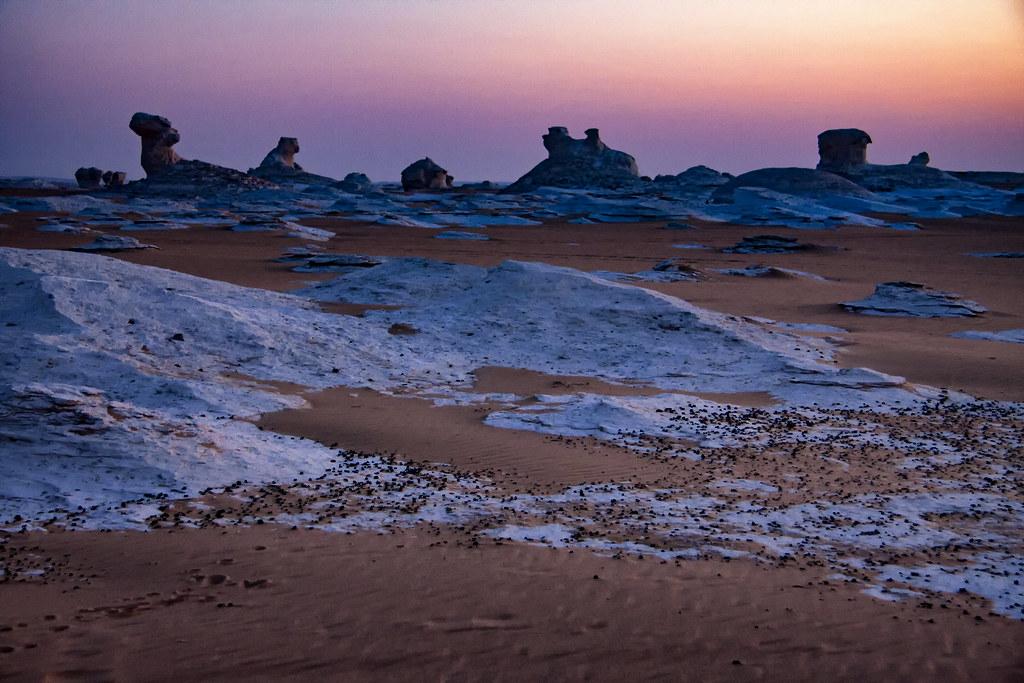 Sunset In The White Desert, Egypt