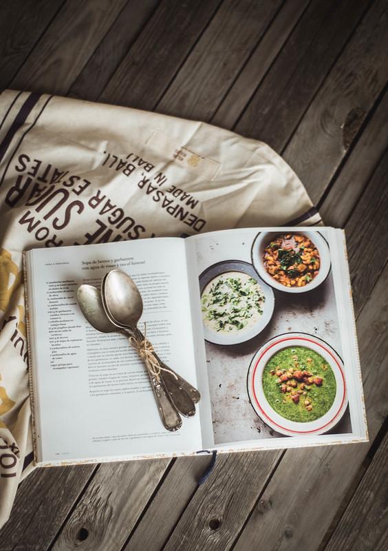 cinco libros de cocina para buscar inspiración