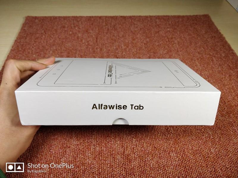 Alfawise Tab 開封レビュー (5)