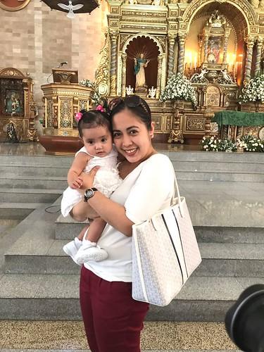 me and baby Xiamara