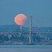 Partial Eclipse Moonset by theordinaryphotographer
