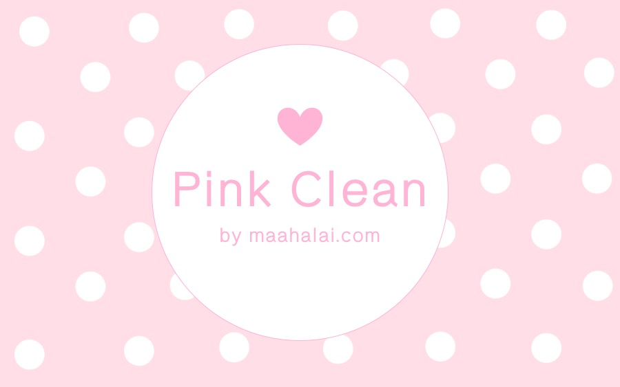 Powerpoint Pink Clean