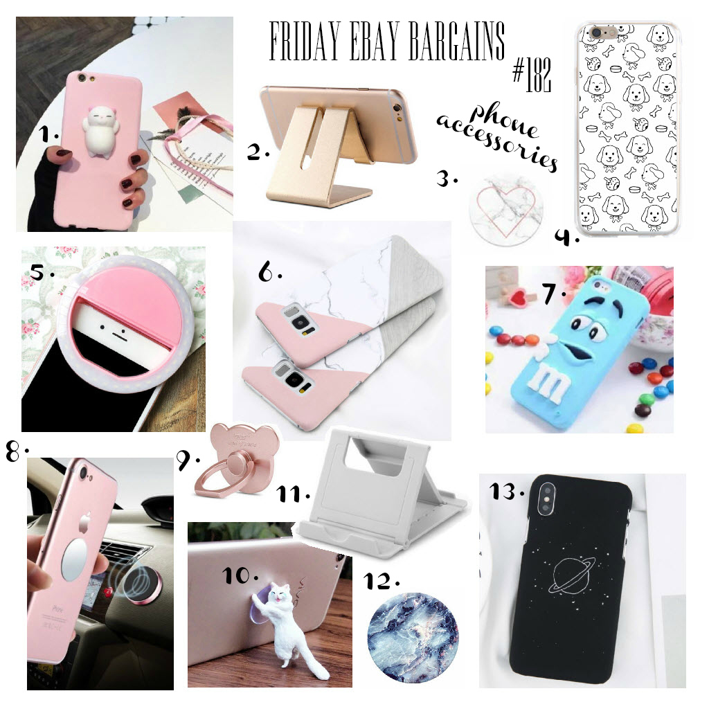 Phone accessories from eBay