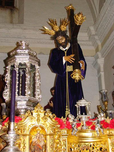 Venerable Hermandad y Cofradia de Nazarenos de Nuestro Padre Jesús Nazareno, Santa Cruz en Jerusalen y María Santísima de las Lágrimas y San Juan Evangelista. (Dos Pasos)