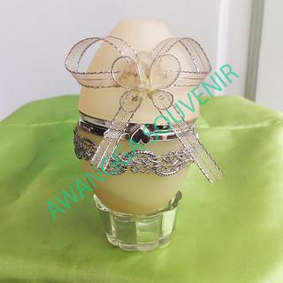 kotak perhiasan telur acrelik