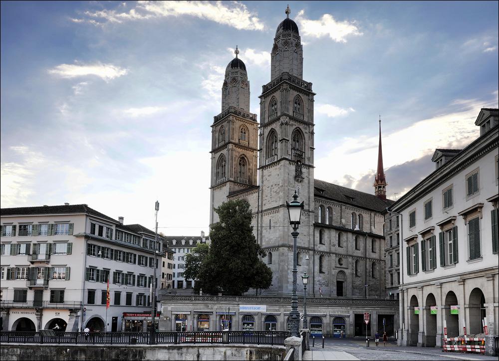 Гроссмюнстер, Цюрих, Швейцария