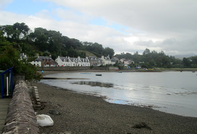 Plockton Village from Jetty