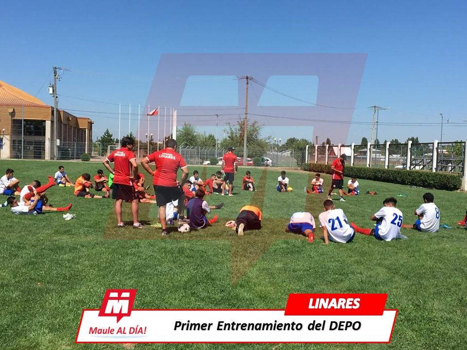 LINARES; Deportes Linares comenzó la pretemporada de cara del campeonato de Tercera División 2018