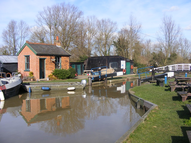 Paper Mill lock, Little Baddow