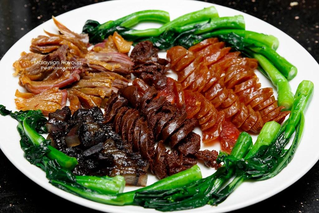 Li Yen the ritz carlton kl cny 2018 menu