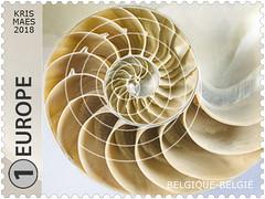 12 GÉOMÉTRIE DS LA NATURE timbre E