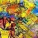 """""""Cubist Feeding Frenzy"""" by Paul Ewing"""