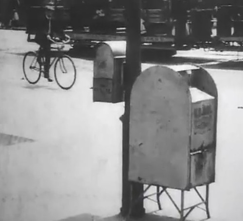 Collecting mail, U.S.P.O. single image from video (1)