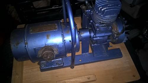 J.A.P. engine generator set
