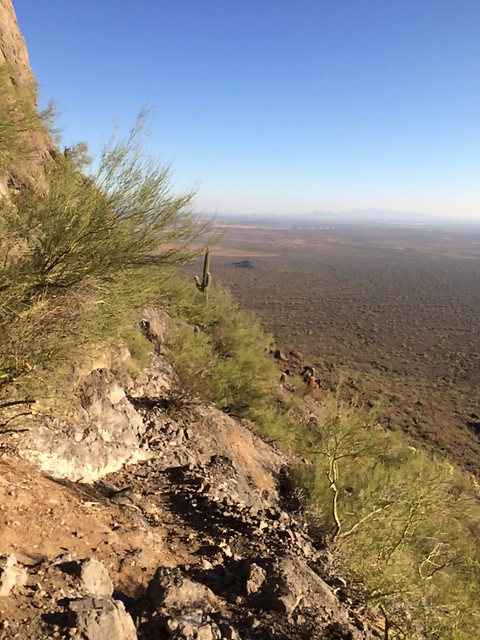Picacho Peak view from the cables
