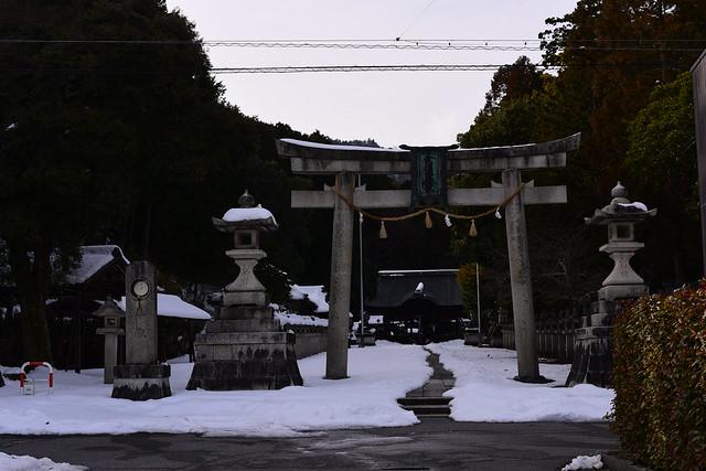 結神社、観音正寺へ