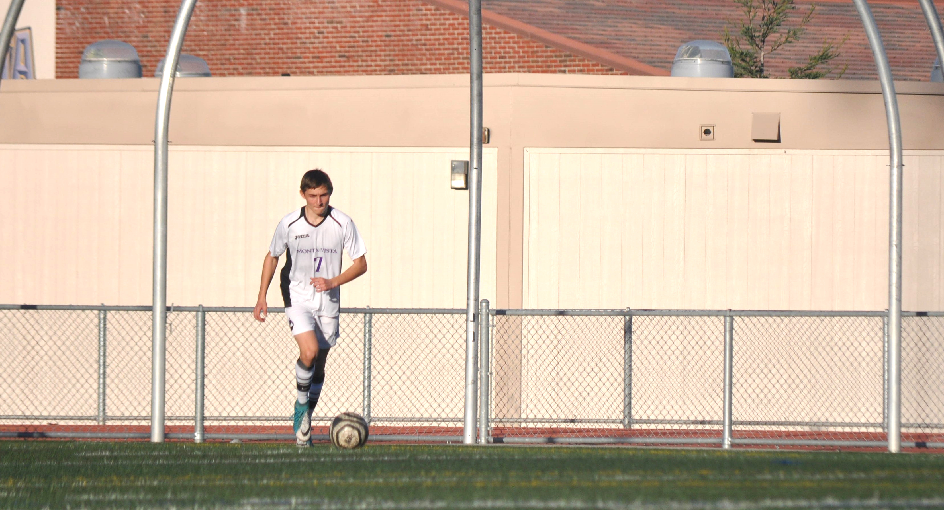 Boys soccer vs Saratoga HS 2/7