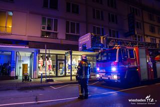 Küchenbrand Webergasse 13.02.18